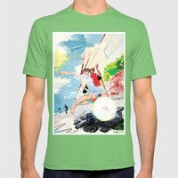 Pelada Mens Fitted Tee Grass SMALL