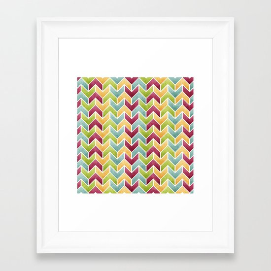 It's All About The Ziggy. Framed Art Print