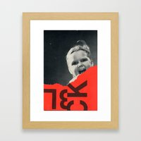 Let It Out Framed Art Print