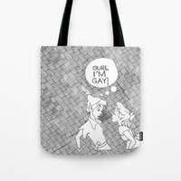 GURL... I'M GAY! (Peter … Tote Bag