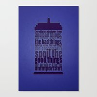 Good Things And Bad Things Canvas Print