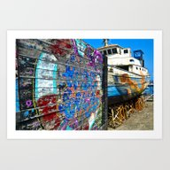 Old Sicilian Port Of Alc… Art Print