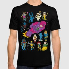 X-Men Alive! Mens Fitted Tee Black SMALL