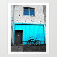 South Tacoma apartment Art Print