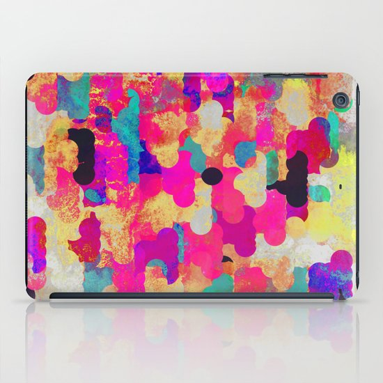 Neon Tambourine iPad Case