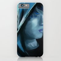 iPhone & iPod Case featuring Blue Serenity by maya kohl