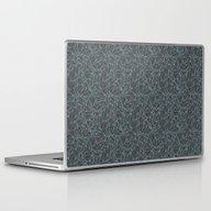 Skulled Laptop & iPad Skin