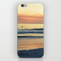 Orange Skies iPhone & iPod Skin