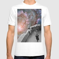 Messier 83 Mens Fitted Tee White SMALL