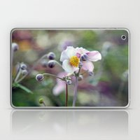 Pretty Pink Anemone Laptop & iPad Skin