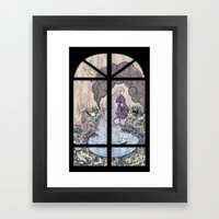 Rain Mage Framed Art Print
