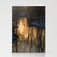 Early Morning Winter Stationery Cards
