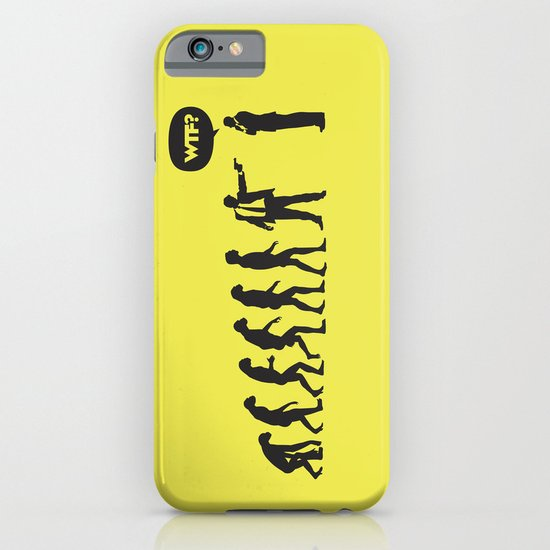 WTF? Evolution! iPhone & iPod Case