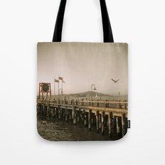 View of Alcatraz - The Rock Tote Bag