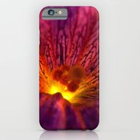 iPhone & iPod Case featuring Purple Flower by Gioele Fusaro