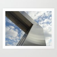 Art And Sky Art Print