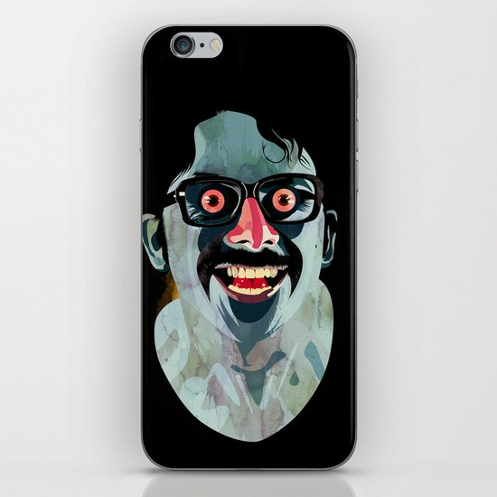 Portrait of Alonso Quijada iPhone & iPod Skin