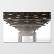 Underbelly Canvas Print