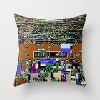 Elect Moss Throw Pillow