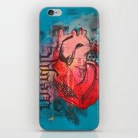 Heavy Heart iPhone & iPod Skin