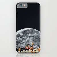 iPhone Cases featuring MOONRISE  by Beth Hoeckel Collage & Design