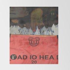 Radiohead 20 Throw Blanket