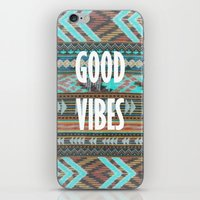 Good Vibes iPhone & iPod Skin