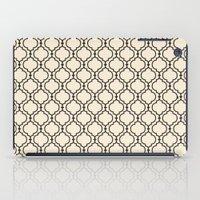 Trellis Pattern I iPad Case