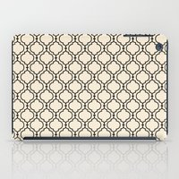 Trellis Pattern I iPad Case