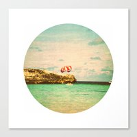 day at the reef Canvas Print