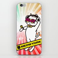 DJ CATMAN iPhone & iPod Skin