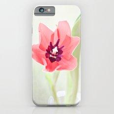 Pretty Pink Tulip iPhone 6s Slim Case