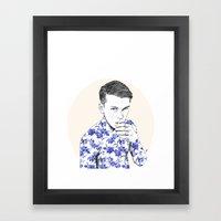 Inked #5 Framed Art Print