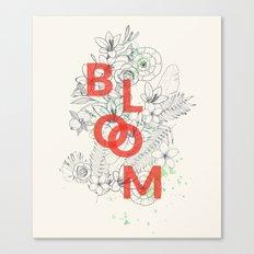 Vintage Bloom #society6 Canvas Print