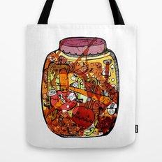 Preserved vegetables Tote Bag