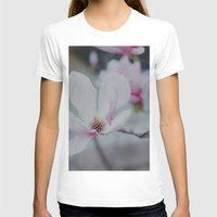 Sweet & Delicate Womens Fitted Tee White SMALL