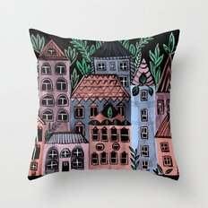 Little Street Throw Pillow