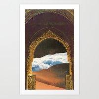 Ascension Day Art Print