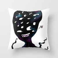 All Seeing Universe Throw Pillow