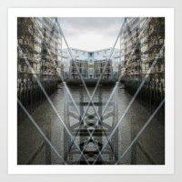 Cable Shade Art Print