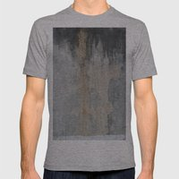 SIMENT Mens Fitted Tee Athletic Grey SMALL