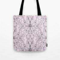 Rose Quartz Insect Wings Tote Bag
