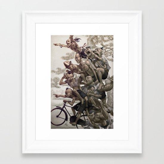 Ten Brothers Framed Art Print