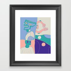 Sequence, moods Framed Art Print