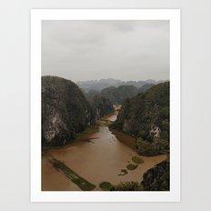 Ninh Binh - Vietnam Art Print