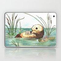 Otter on a Laptop Laptop & iPad Skin