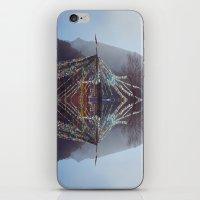 Flag Mountain iPhone & iPod Skin