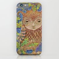 iPhone & iPod Case featuring Oak & Owl by Kristin Barr