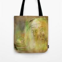 Buddha Illustration Tote Bag