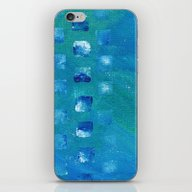 Squared Up Oceans iPhone & iPod Skin